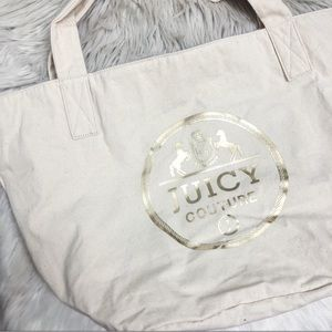Juicy Couture Bags - Juicy Couture Canvas Tote NWT